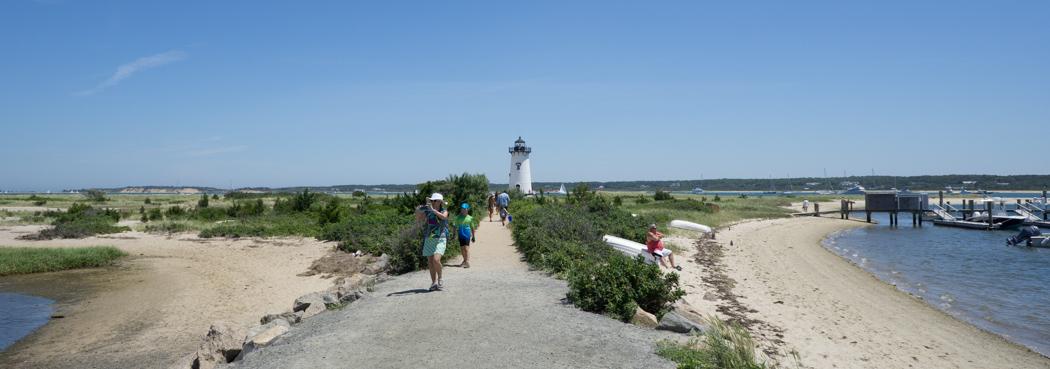 Joli petit phare d'Edgartown -