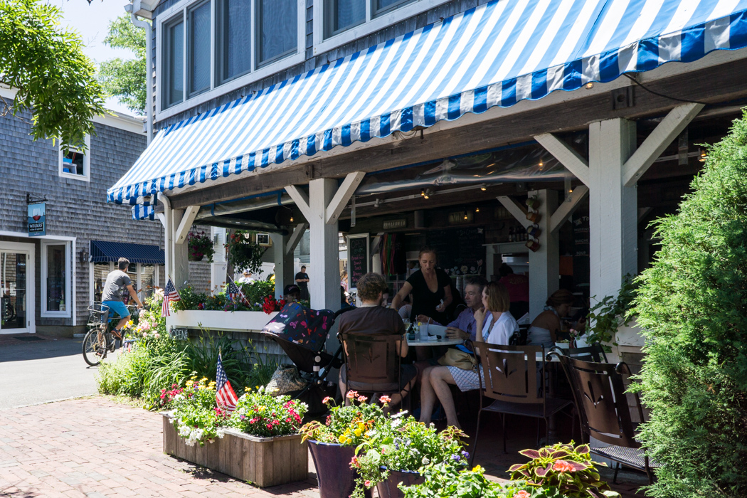 Among the Flowers Cafe Edgartown Martha's Vineyard