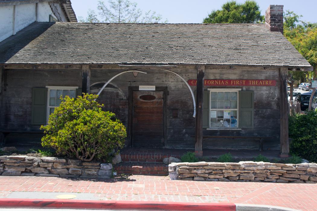 Le plus vieux théâtre de Californie à Monterey