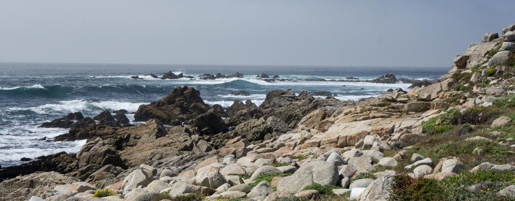 La sublime 17 mile route entre Carmel et Monterey - Californie