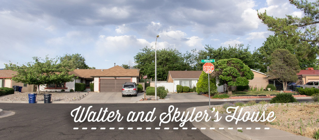 Walter and Skyler White House - Albuquerque - Breaking Bad