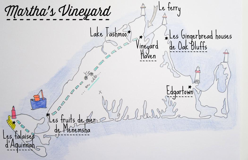 Martha's Vineyard - plan