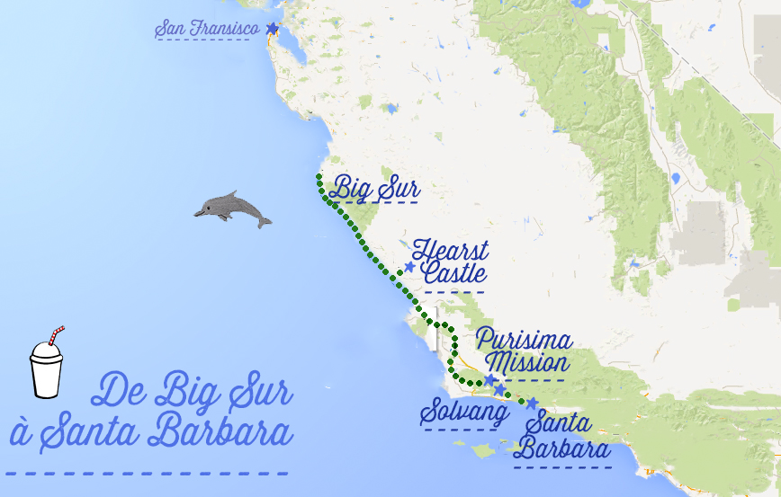 il highway map with Road Trip Le Long De La Route 1 En Californie 5 Arrets De Big Sur A Santa Barbara on Oman in addition 96 moreover Maps And Directions 2 moreover Detail 2015 Harley davidson Cvo street glide flhxse Cvo street glide Used 16928295 likewise 14674879081.