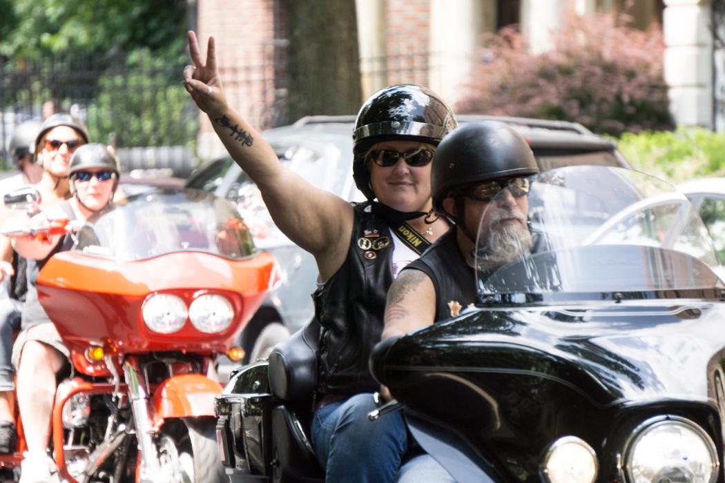 Hell yeah ! motarde à Boston