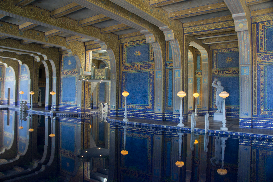 La piscine romaine - Roman Pool - Hearst Castle - Californie