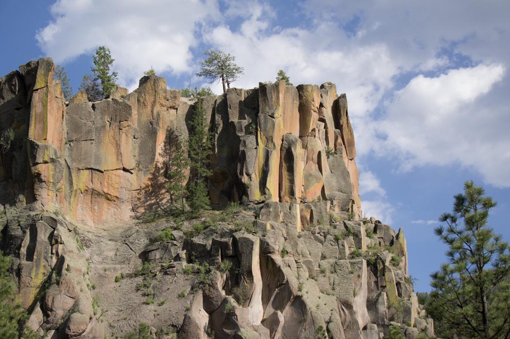 Jemez Mountain Trail - Nouveau Mexique - Battleship Rock