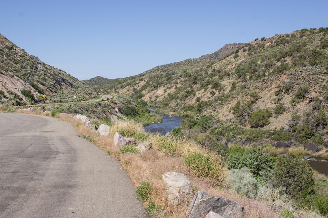 Le Rio Grande au Nouveau Mexique