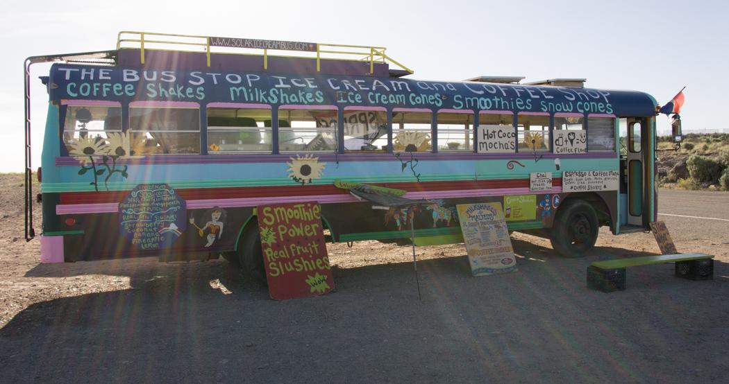 Le Rio Grande au Nouveau Mexique bus