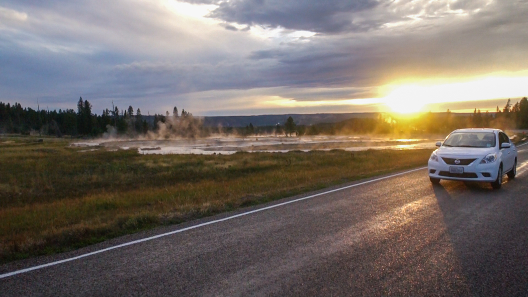 Yellowstone National Park - Geyser