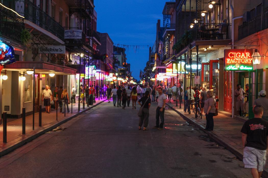 Nouvelle Orleans - Bourbon Street