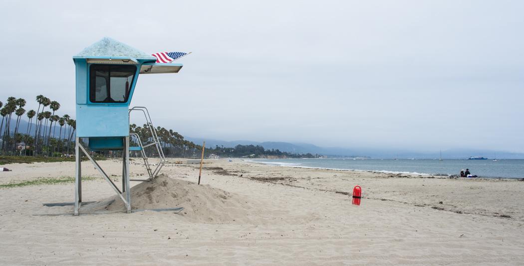 Santa Barbara la plage