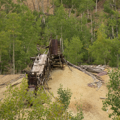 vieille mine abandonnee colorado