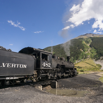 train a vapeur durango silverton colorado