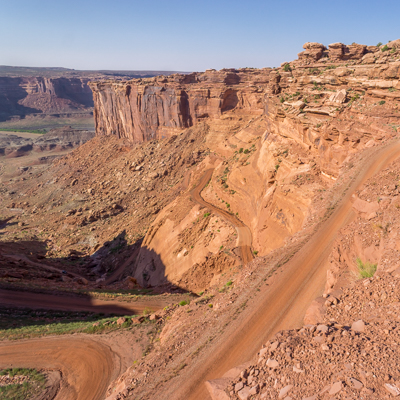 La route de la mort Canyonlands National Park Moab Utah