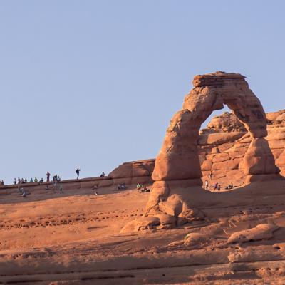 Road trip sud ouest américain arches national park moab utah symbole