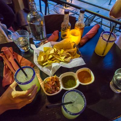 road trip sud ouest américain soirée à Boulder resto mexicain