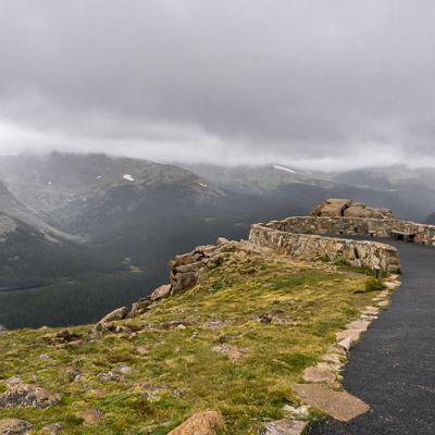 road trip sud ouest américain la route dans les nuages Rocky Mountain National Park Colorado