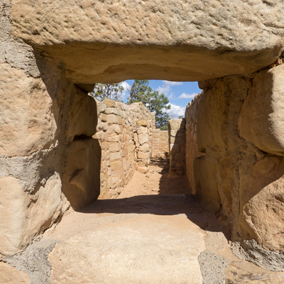 Mesa Verde la vue par la petite fenetre