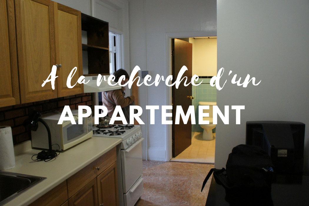 A la recherche d'un appartement a Boston