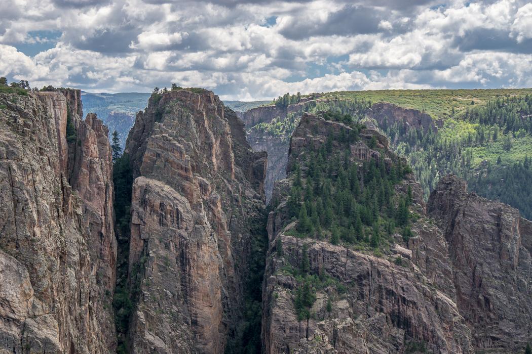 Black Canyon of the Gunnison - National Park - Colorado - road trip Etats-Unis - Big Island