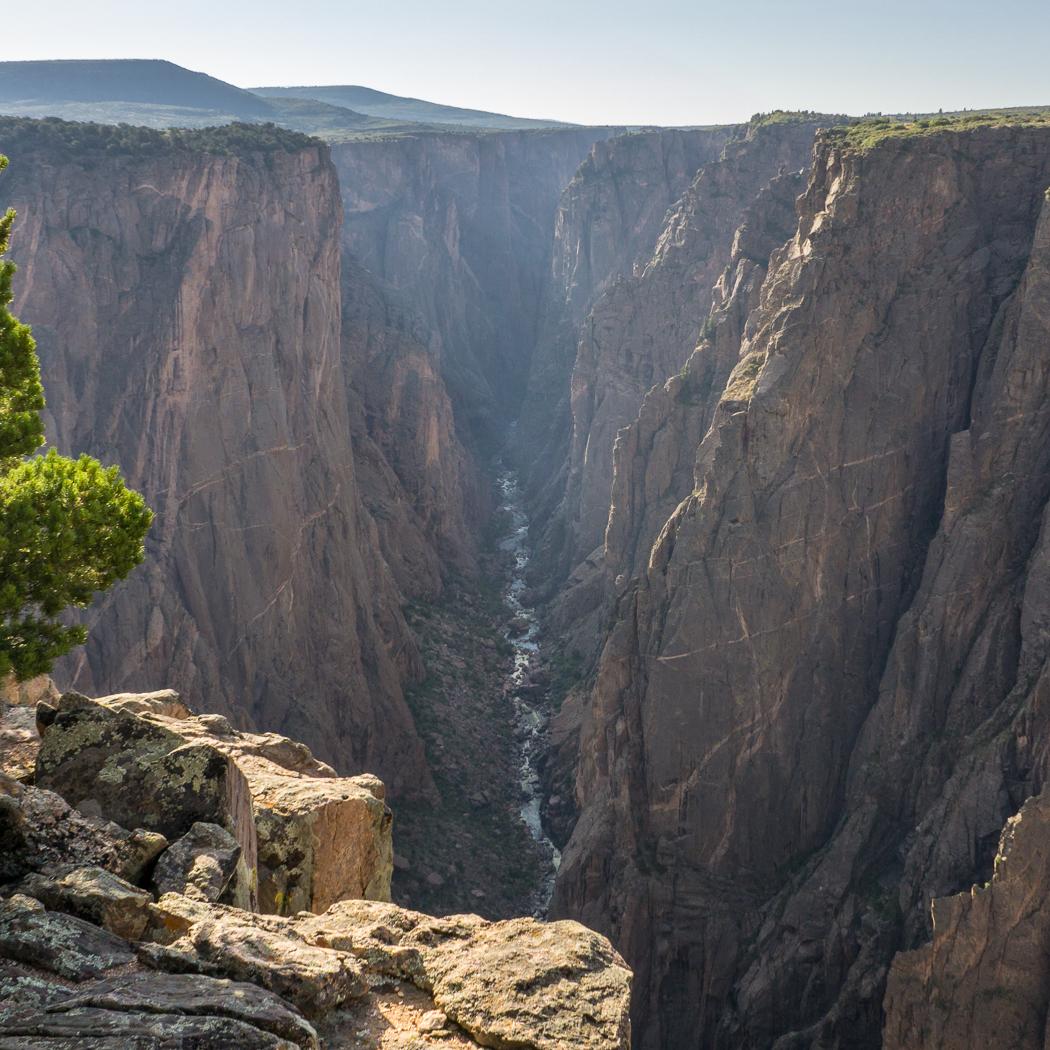 Black Canyon of the Gunnison - National Park - Colorado - road trip Etats-Unis - North Vista Trail