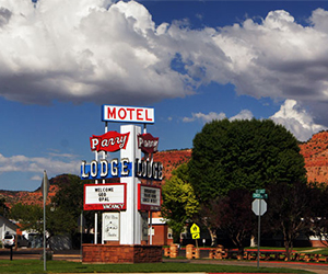 motel aux USA