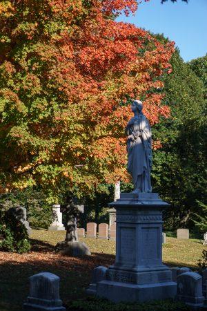 Mount Auburn statue
