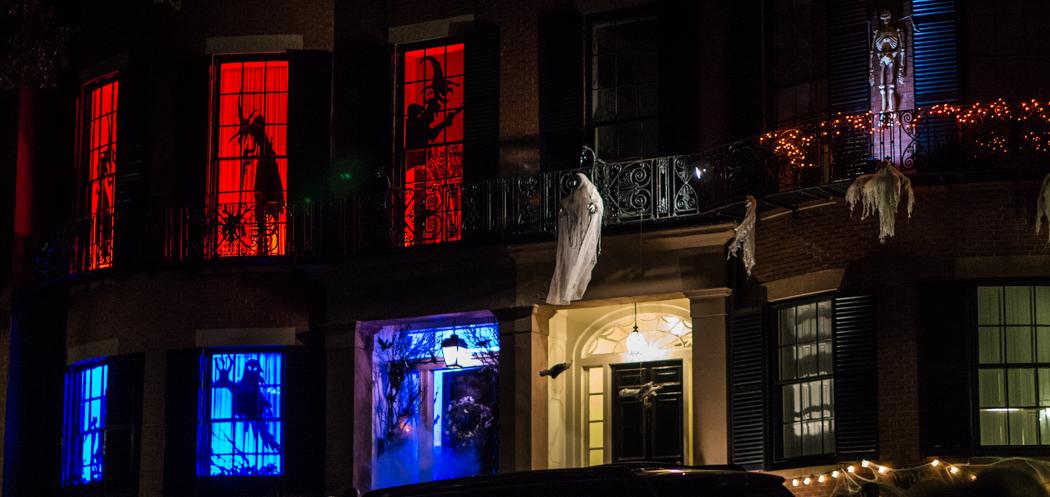 Décorations d'Halloween Beacon Hill