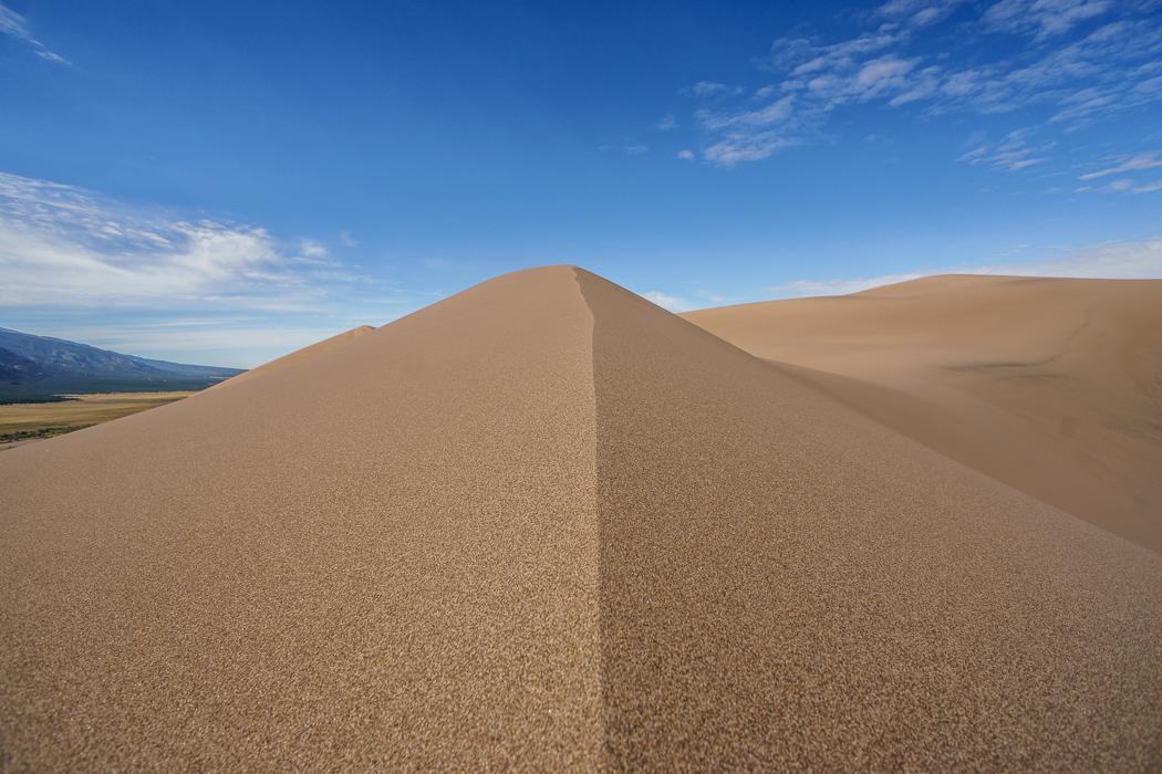 Great Sand Dunes la crête