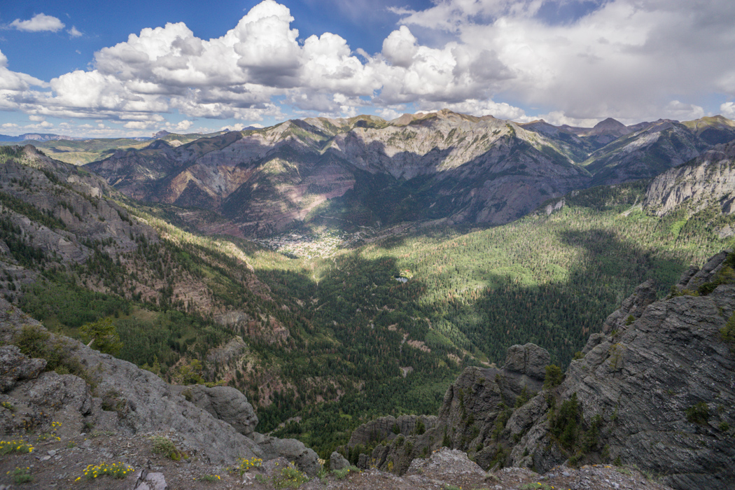 Colorado road trip - vue d'ouray