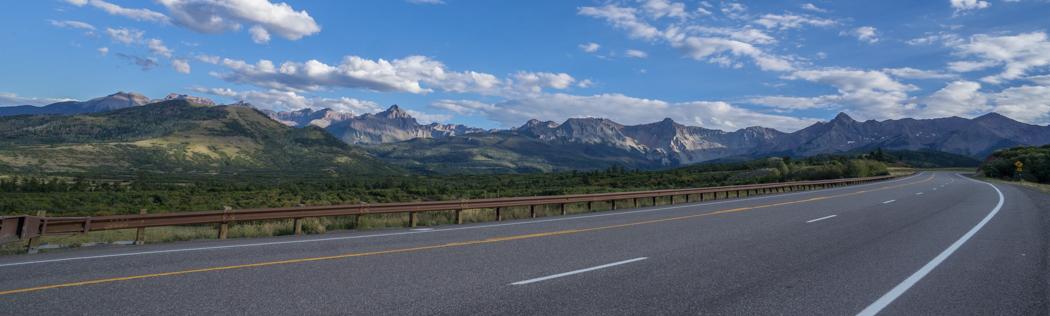 Colorado road trip - sur la route pour Telluride 1