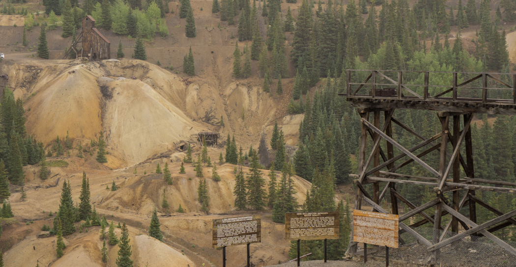 Colorado road trip - vieille mine abandonnée