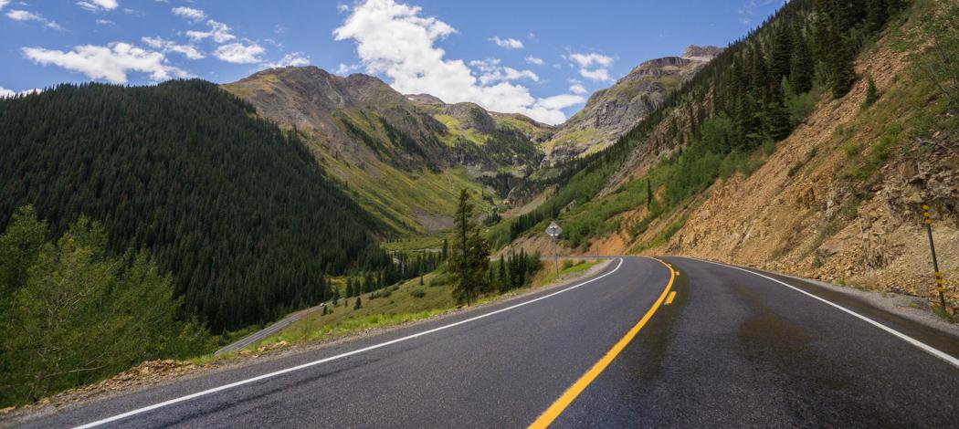 Colorado road trip - Million Dollar highway