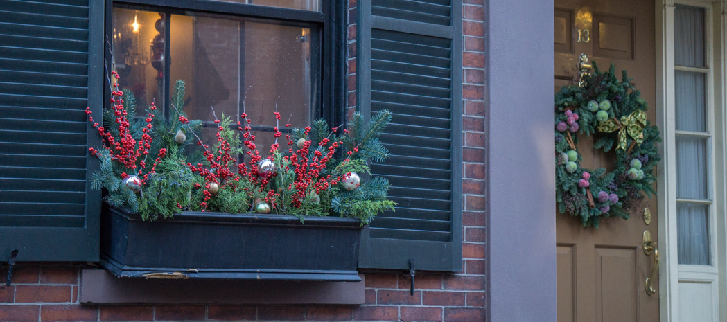 Decoration de noel pour jardiniere - Decoration de noel fenetre ...