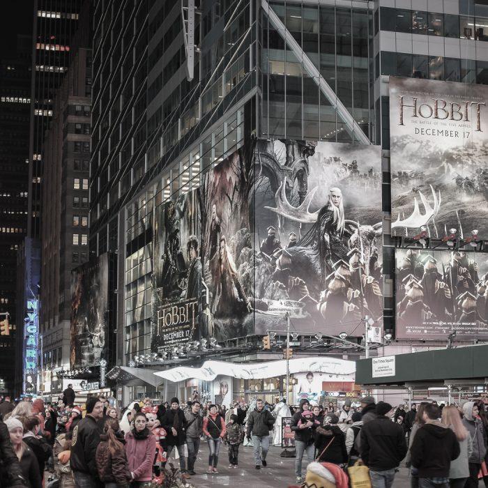 visiter-new-york-19 time square le hobbit