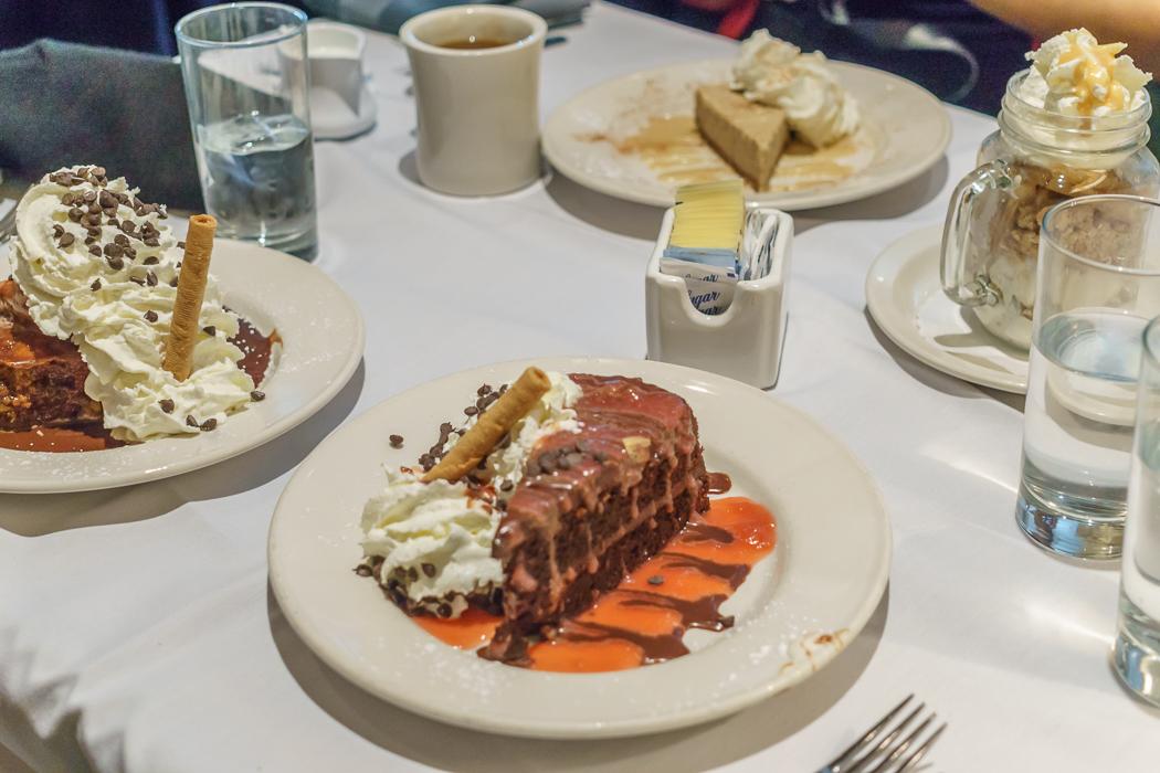 Washington DC Restaurant Old Ebbit Desserts