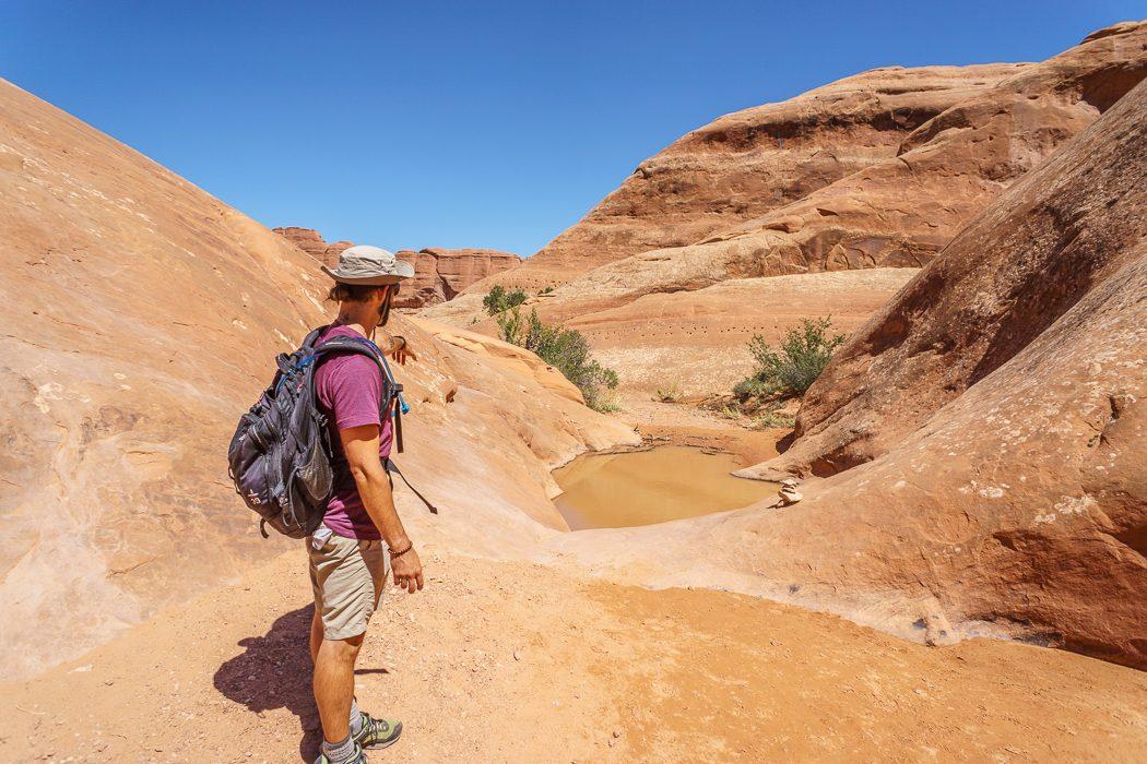 arches-national-park le passage de l'eau