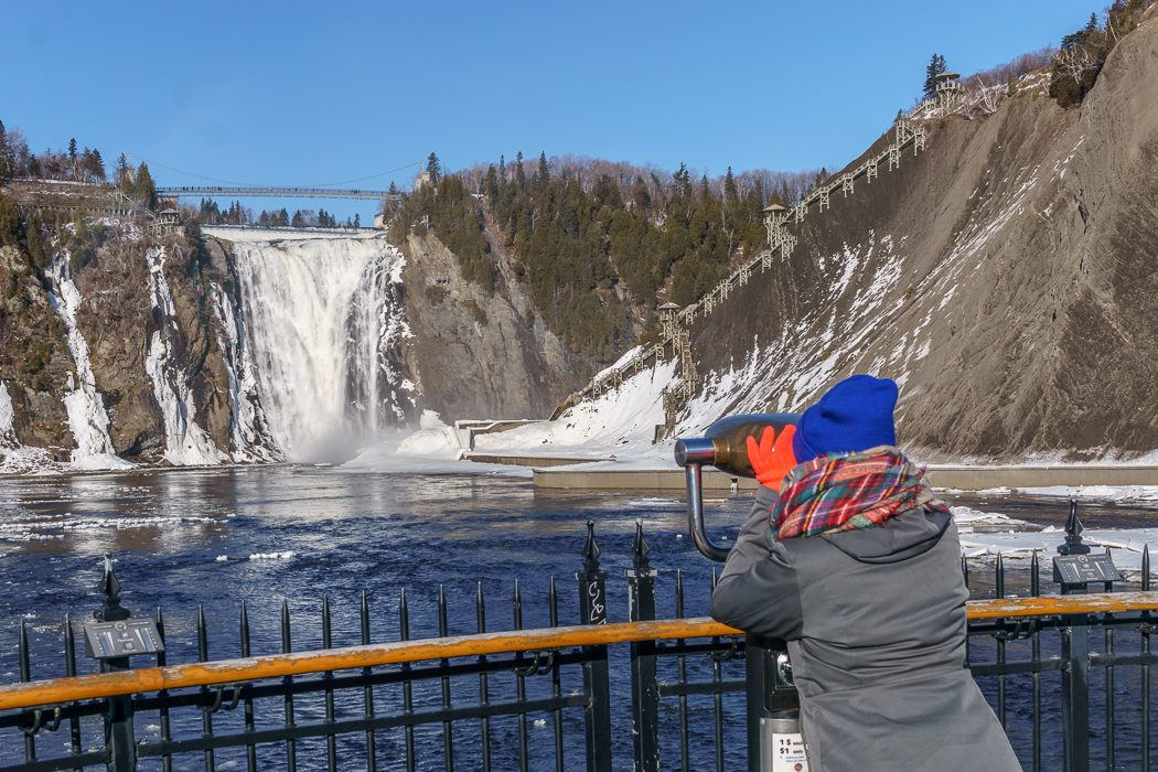 voyage-quebec Chute Montmorency
