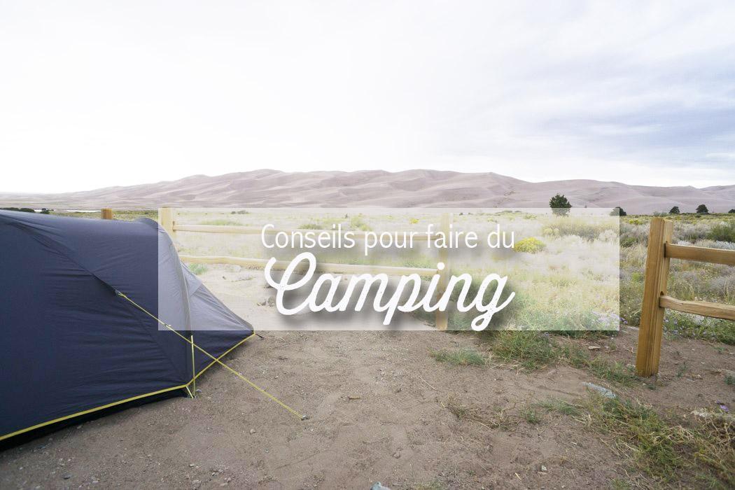 faire du camping aux usa