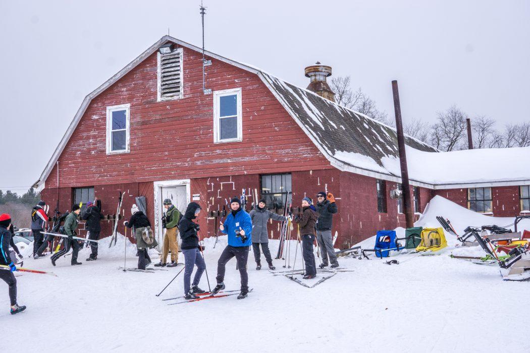 cross country ski - location de ski de fond et pistes pour la journée près de Boston