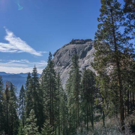 blog trip californie MOro Rock sequoia