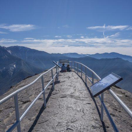 blog trip californie MOro Rock sequoia panorama