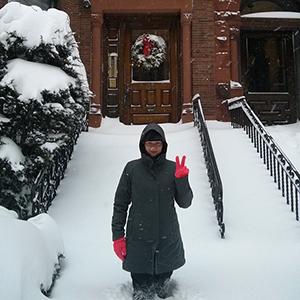 Boston sous la neige et le froid // www.maathiildee.com