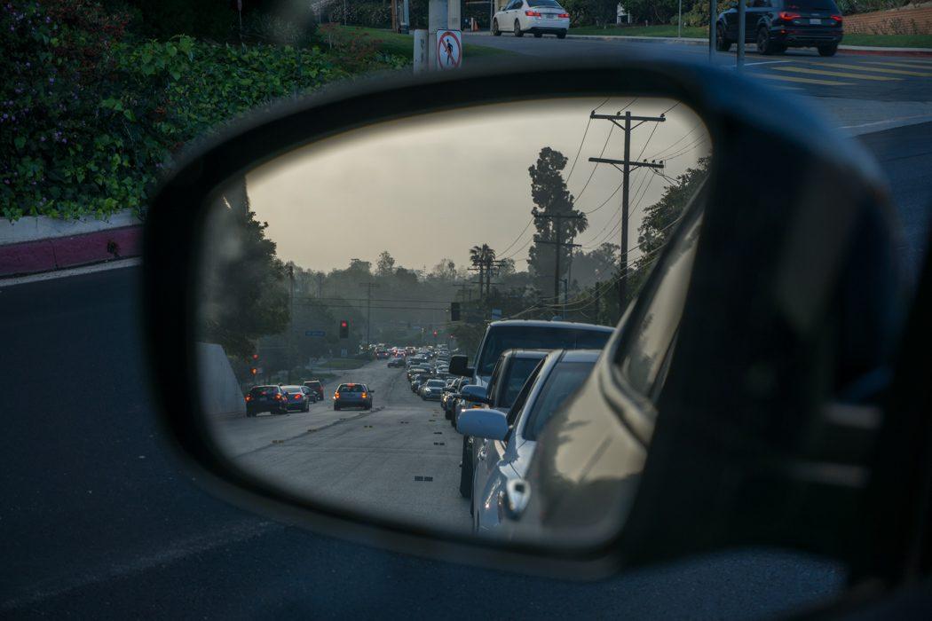 Los Angeles Californie-4 traffic jam à Los Angeles