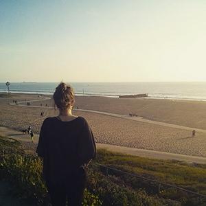 Los Angeles - vue sur la plage // www.maathiildee.com