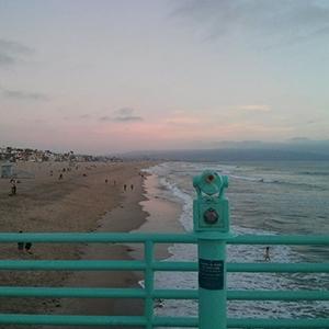 manhattan beach coucher de soleil - Los Angeles - www.maathiildee.com
