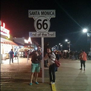 route 66 End of TRail Santa Monica Los Angeles - www.maathiildee.com