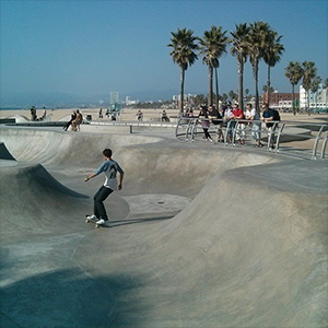 Beach Cruiser - vélo - skate park - Los Angeles