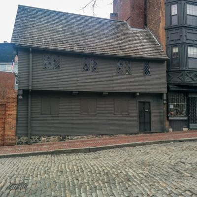 La maison de Paul Revere // Visiter Boston, Le blog de Mathilde www.maathiildee.com