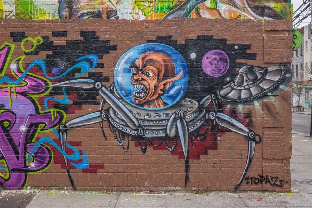 Brooklyn Street Art-1 // http://http://www.maathiildee.com/